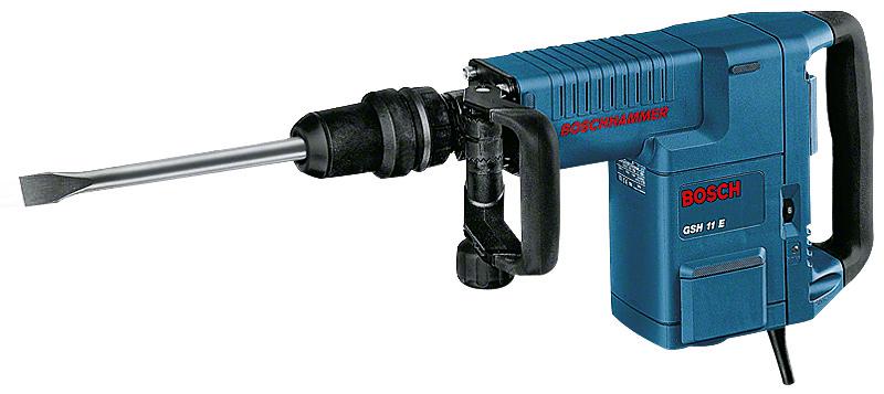 """בוש GSH 11E - פטיש חציבה חשמלי 10.1 ק""""ג במזוודה (11316)"""
