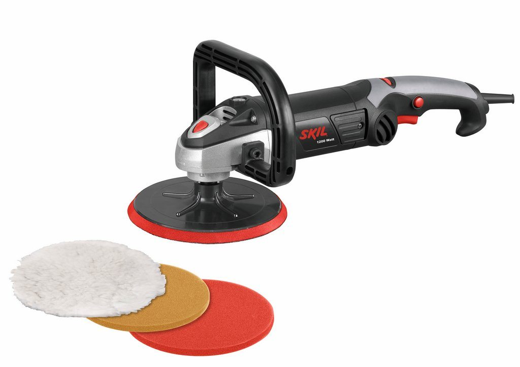 "SKILL 1144K - 7"" 1,200W Electric Polisher"
