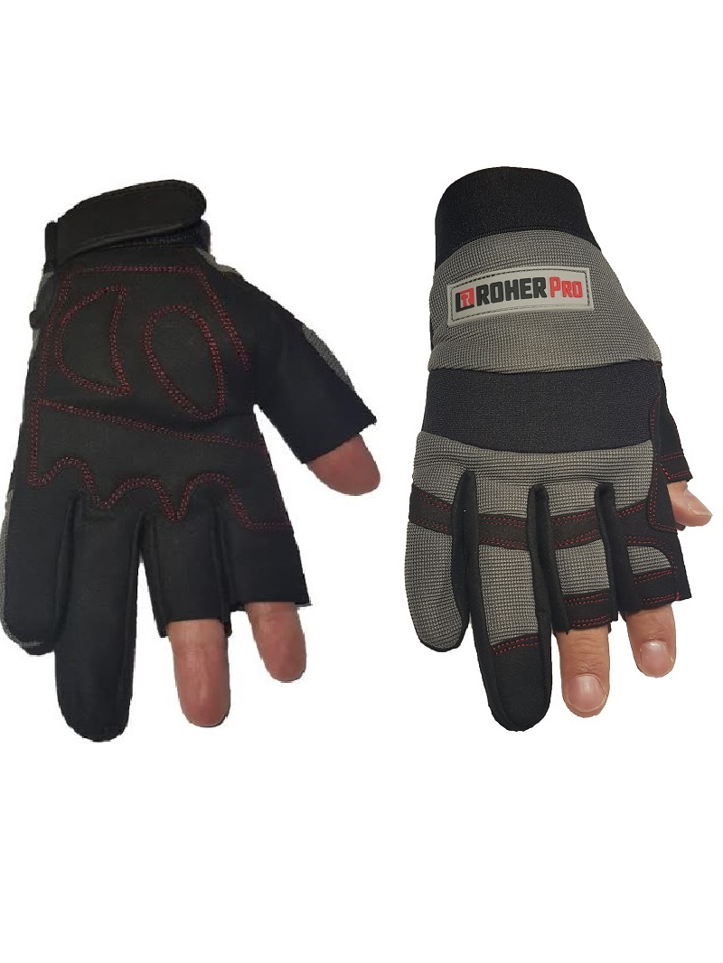 Mechanic Gloves 2 fingers L