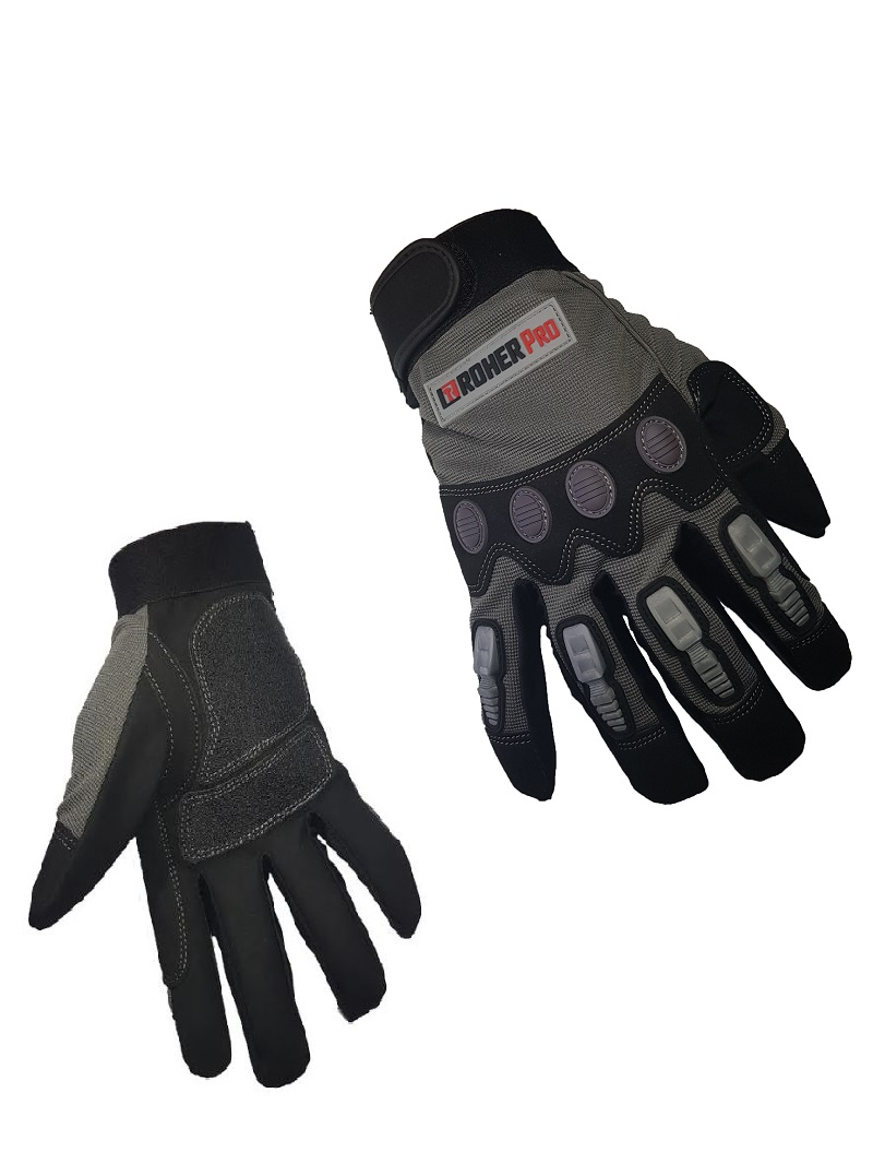 Mechanic Gloves with top fingers protection L