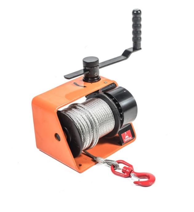 Hand Winch 250Kg 20M Wire Rope