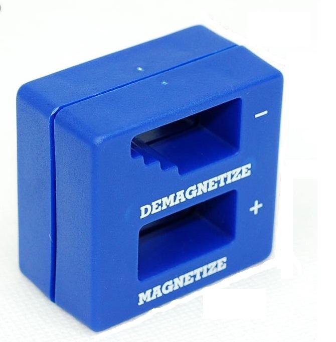 ממגנט /מבטל מיגנוט למקדחים /מברגים /ביטים