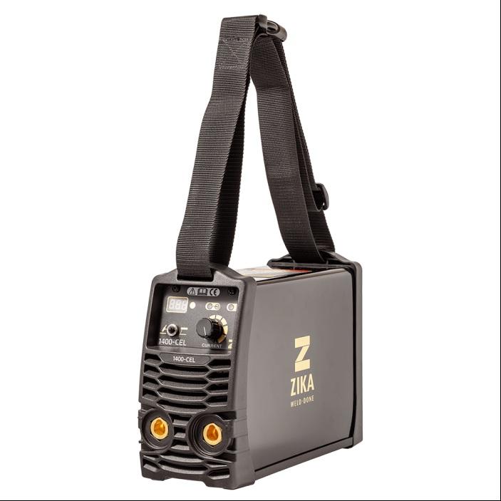 זיקה CEL-1400 - רתכת אלקטרונית 140A  משולבת אלקטרודה + ארגון מתאימה לריתוך צנרת