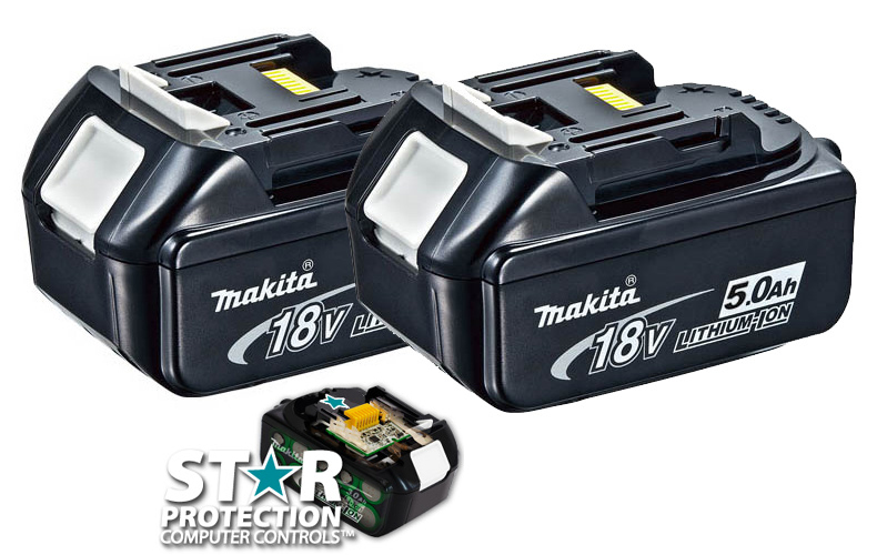 MAKITA BL1850 - Lithium Slide Battery 18V 5.0A