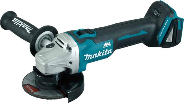 """MAKTA DGA504Z 18V Lithium Cordless Angle Grinder 5"""" Brushless"""