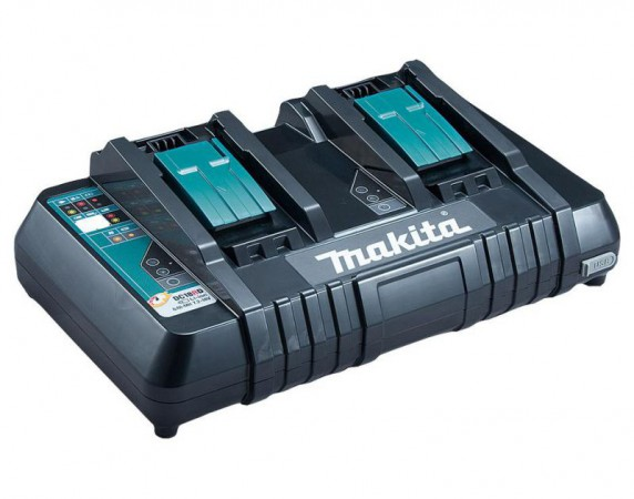 MAKITA DC18RD - 18V Twin Port Charger with USB port