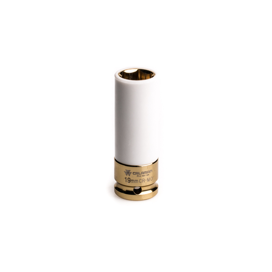 "Thin Wall Deep Impact Socket 19mm 1/2"" Drive"