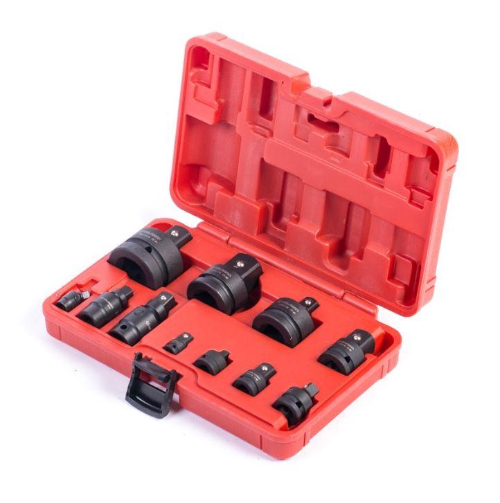 "Impact Socket Adaptor Set 11pcs 1/4""-1"""