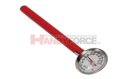 מד טמפרטורה  חוגה עגולה טווח מדידה 40- עד 70 מעלות צלזיוס
