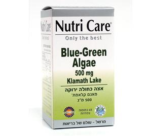 אצה כחולה ירוקה 45 כמו כשרנוטריקר