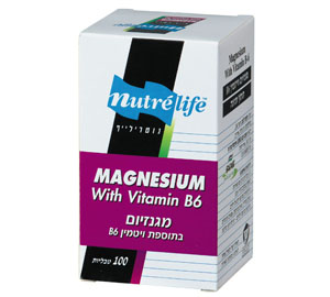 מגנזיום +B6 - נוטרילייף
