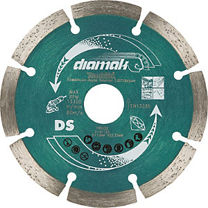 "MAKITA D-61123 - 4.5"" Concrete & Stone Diamond Segmented Cutting Blade"