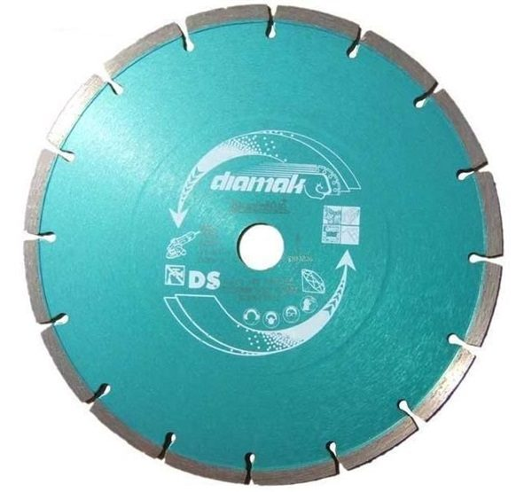 "MAKITA D-61145 - 9"" Diamond Segmented Concrete & Stone Cutting Blade"