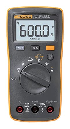 FLUKE 107 - AC/DC Digital Multimeter