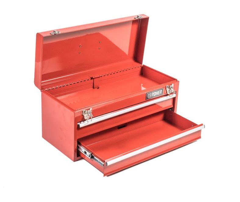 ארגז כלים מתכת משולב 2 מגירות