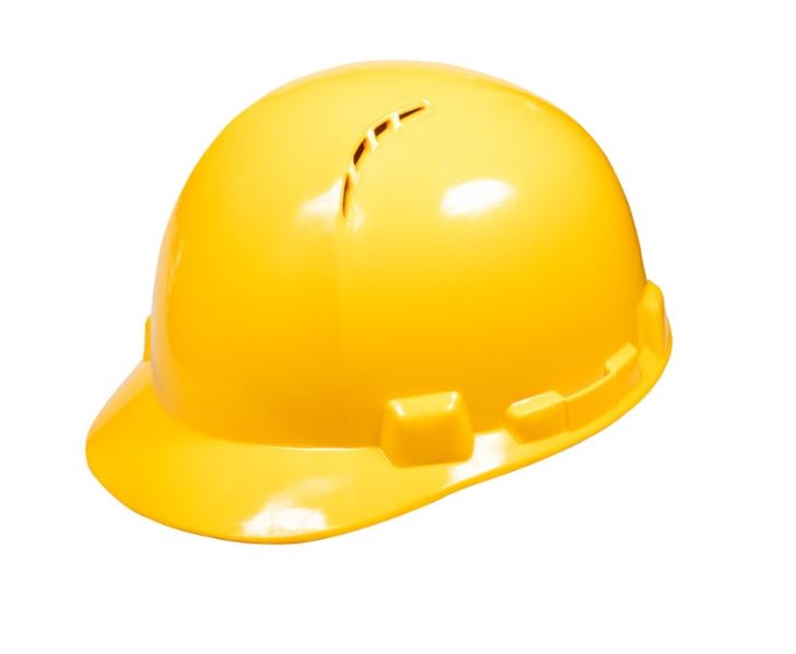 Safety Helmet HDPE, ROHER Yellow
