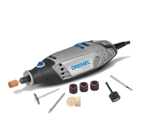 DREMEL 3000UM - EZ Twist Multi-Tool + 10 Accessories Starter Kit