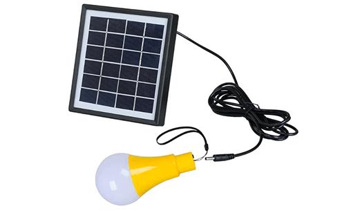 ערכת תאורה LED סולארית 2W