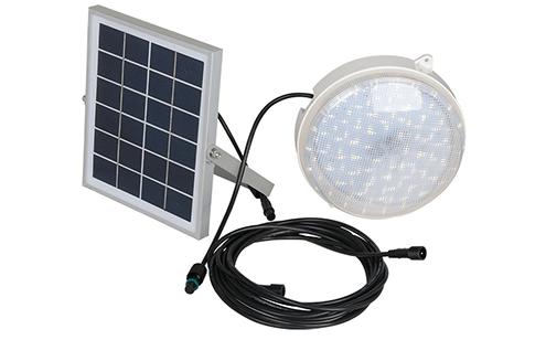ערכת תאורה LED סולארית 12W