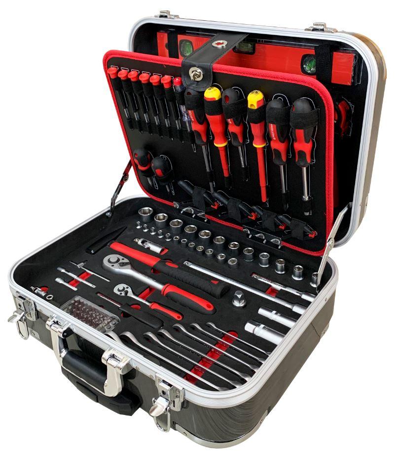 ארגז כלים טרולי נייד מזווד 144 כלים