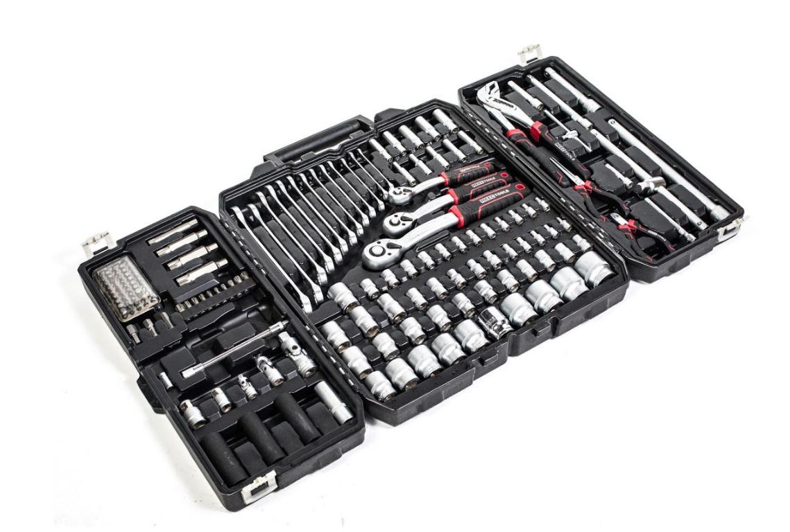 ארגז כלים מוקשח נייד מזווד 163 כלים