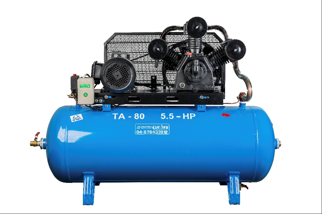 TA-80 7.5HP/270 - Electric Air Compressor 800l/min 270L 7.5HP 3 Cylinders 380V