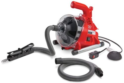 "RIDGID PowerClear™ - 3/4"" (20mm) to 1 1/2"" (40mm) Drain Cleaning Machine"