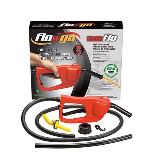 FLO N' GO - משאבת דלק סיפון למיכלי דלק פלסטיק