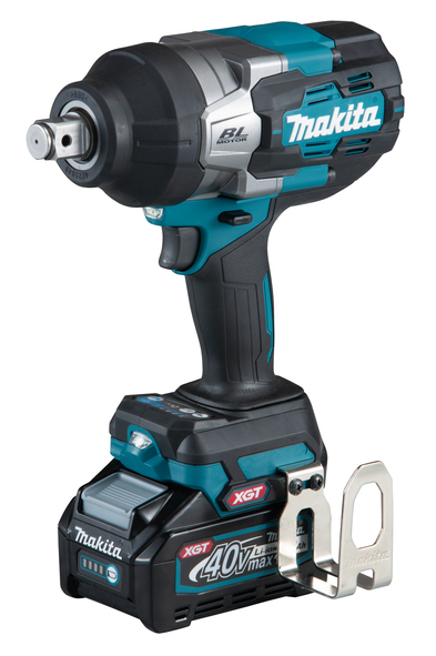 """MAKITA TW001G - 40V 3/4"""" Brushless High Torque Cordless Impact Wrench w/2x4A Batteries & Rapid Charger"""