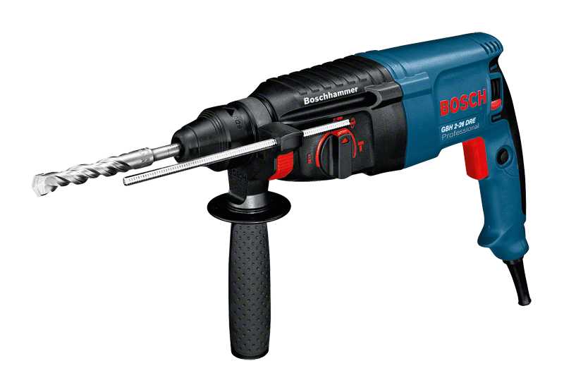 BOSCH GBH 2-26DRE - 26mm 2.7Kg Electric Rotary Hammer
