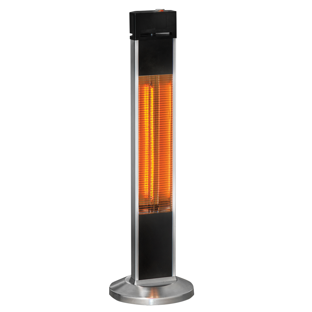 VENTA Tower Platinum - 2,000W Quartz Heater IP65