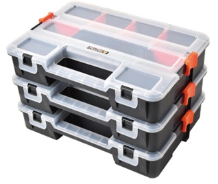 3pcs Interlockable Organizers 31.5x22.5x19.8cm