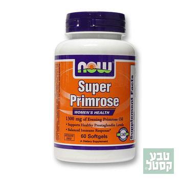 כמוסות שמן נר הלילה NOW - Super Primrose Oil