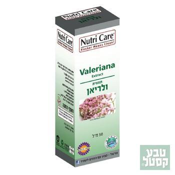 תמצית ולריאן 50 מ'ל NUTRI CARE