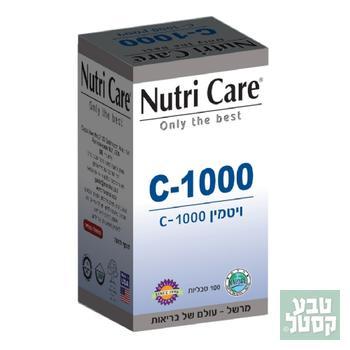 ויטמין C1000 נוטריקר 100 טבליות