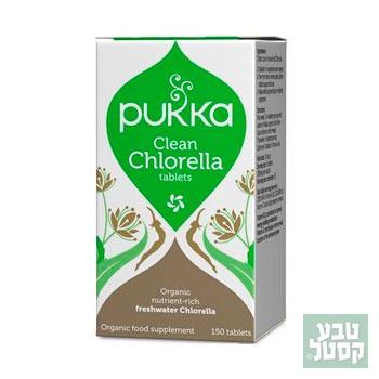 chlorella clean 150 טבליות PUKKA