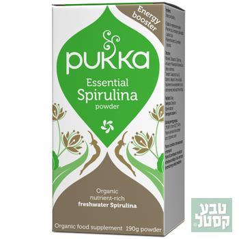 ספירולינה אורגנית באבקה 175 גרם של PUKKA