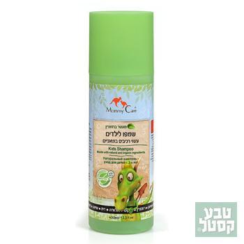 שמפו טבעי לילדים 400 מ'ל MOMMY CARE