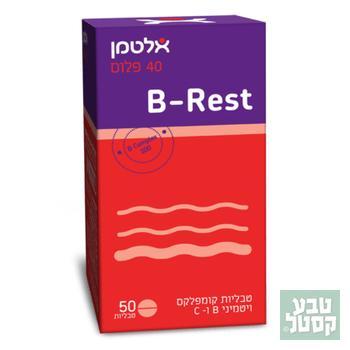 בי רסט (B-Rest) - קומפלקס ויטמיני B בתוספת ויטמין C - אלטמן