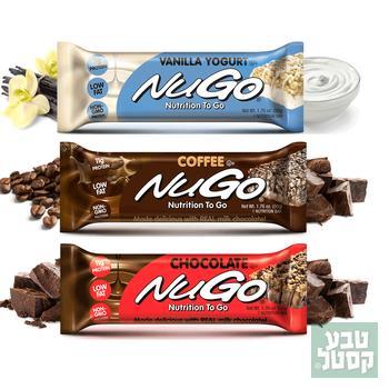 נוגו חטיף אנרגיה מאוזן Nugo