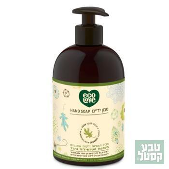 סבון ידיים נוזלי 500 מ'ל ECOLOVE הקולקציה הירוקה