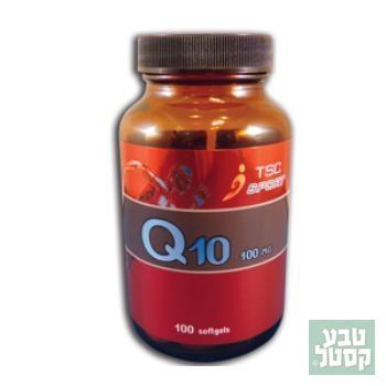 תוסף קו אנזים Q10 כמוסות של 100 מ'ג - TSC
