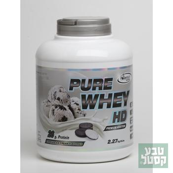 אבקת חלבון 2.3 ק'ג Pure Whey HD