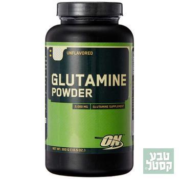גלוטמין באבקה אופטימום 300 גרם Optimum Nutrition