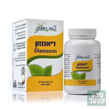 דיאמזון 90 כמוסות צמחיות צמחי אמזונס