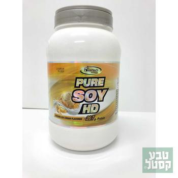 חלבון סויה במגוון טעמים PURE SOY HD 700 גרם Power Tech