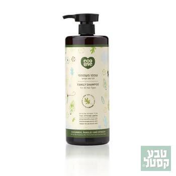 שמפו ירקות ירוקים 1 ליטר ECOLOVE