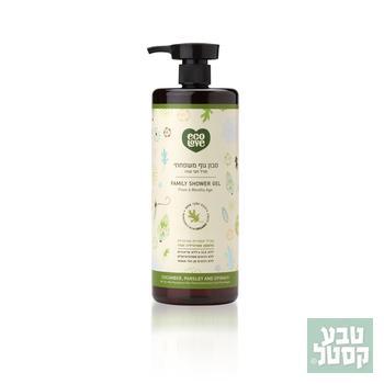 סבון גוף ירקות ירוקים 1 ליטר ECOLOVE
