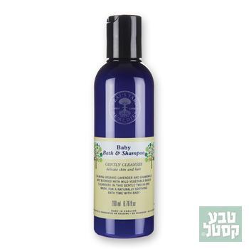סבון/שמפו אורגני לתינוקות 200 מ'ל NEILS YARD