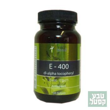 ויטמין E400 - חברת TSC